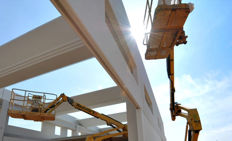 prefabricated construction in Anguix