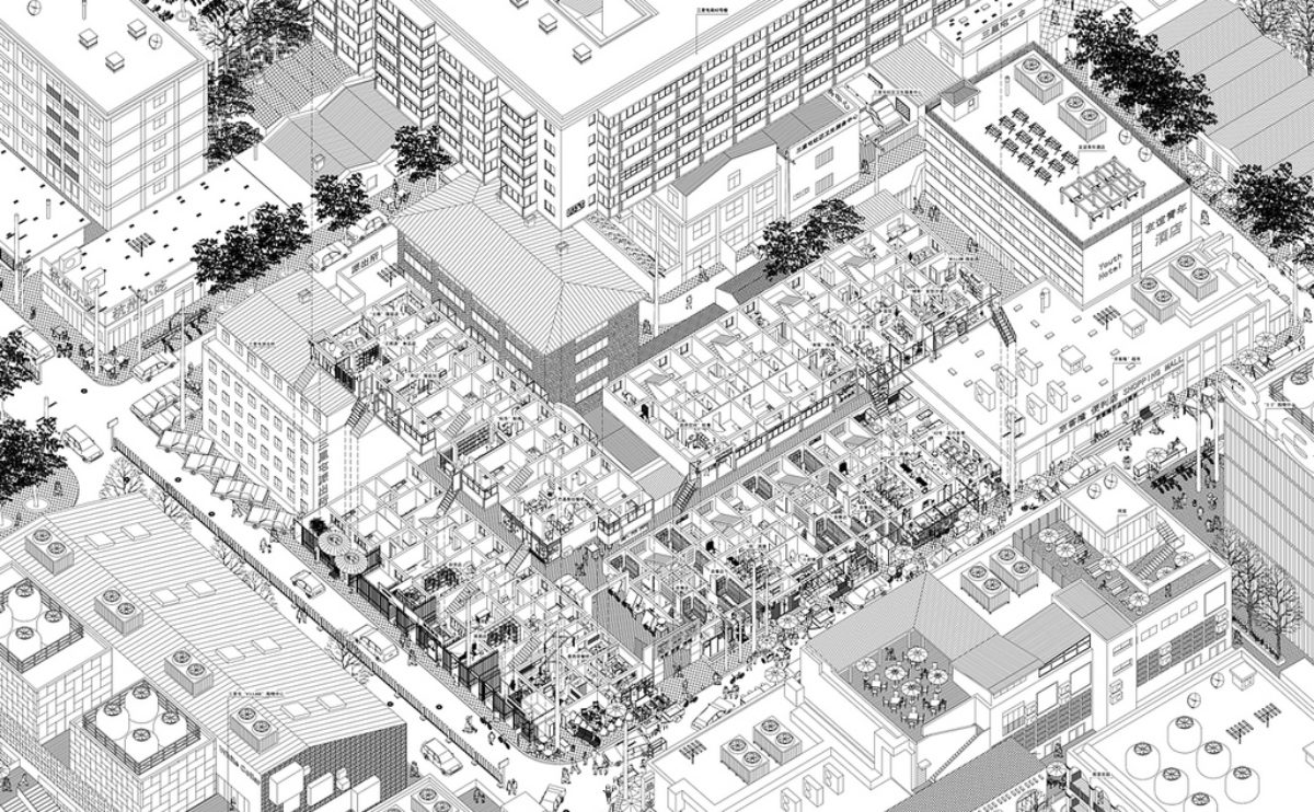 aqso_axonometric_city urban diversity