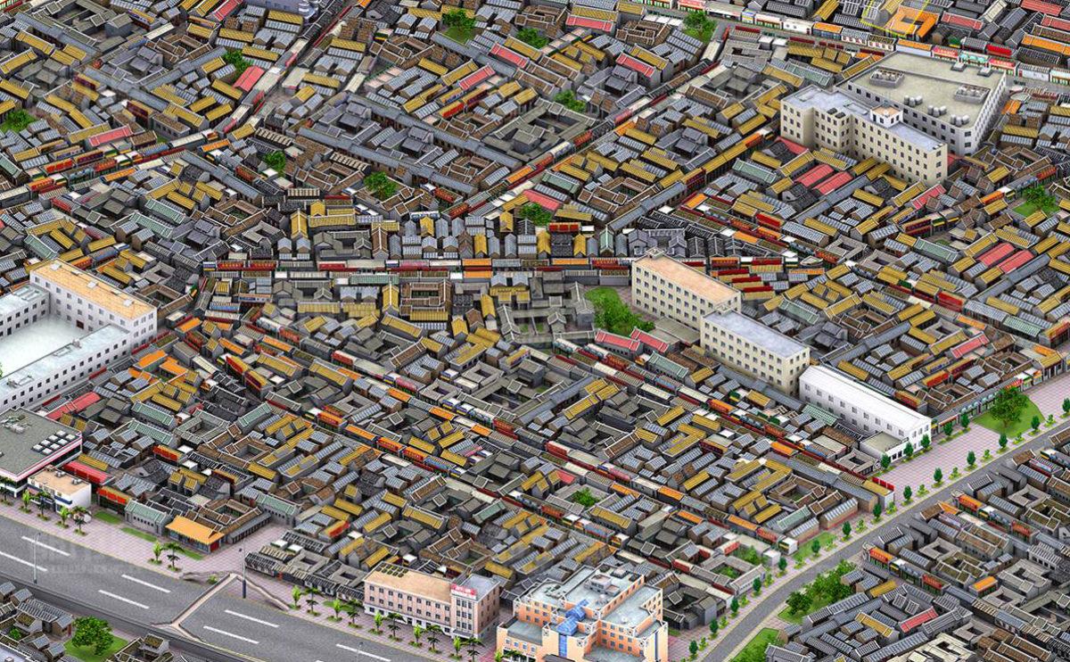 aqso_beijing map dashilar_urban diversity