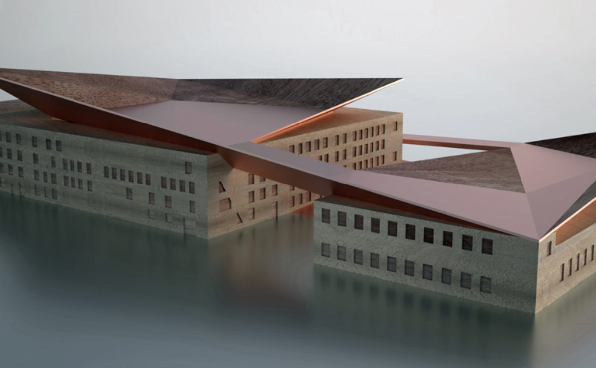 Industrial museum. Model