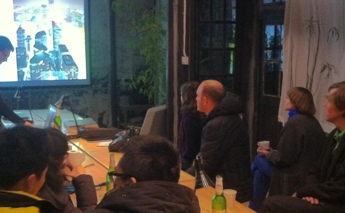 charla en el taller Iterate