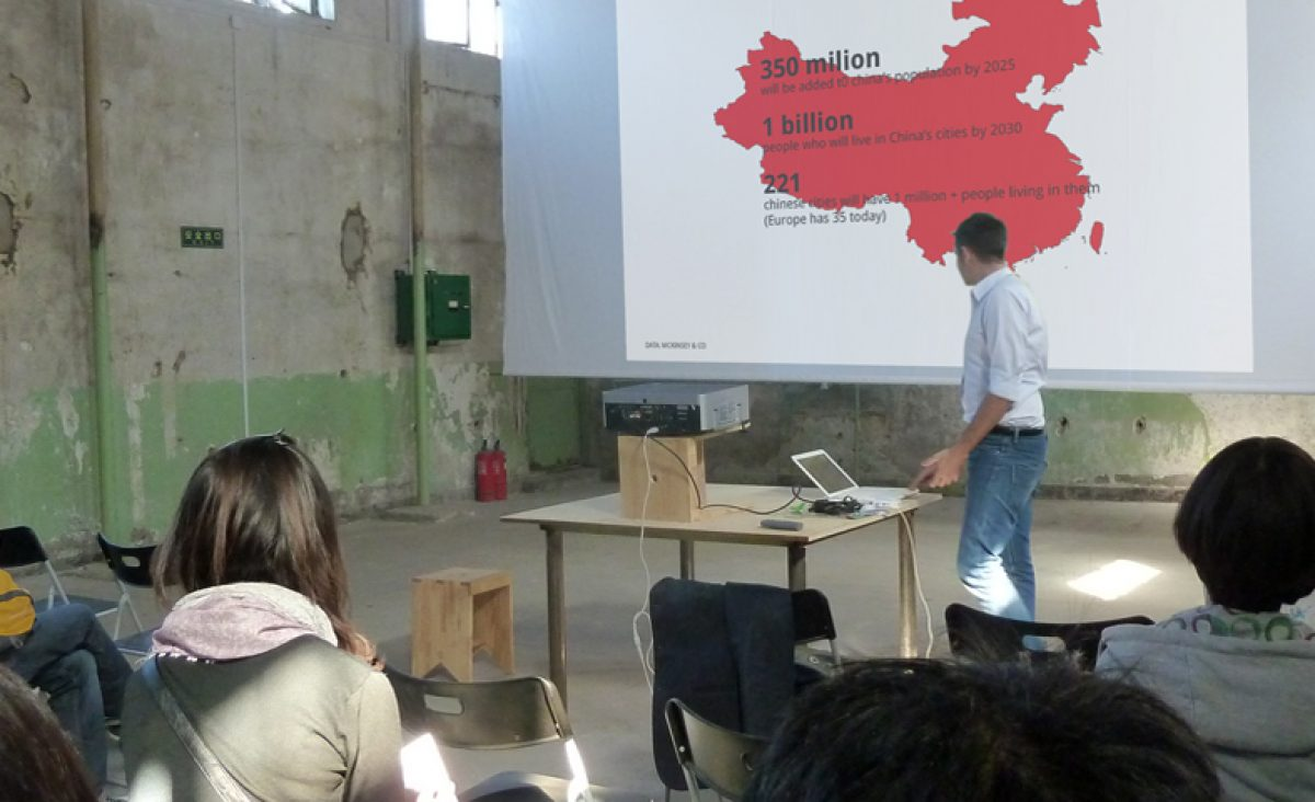 lecture at the Dashilan design hop