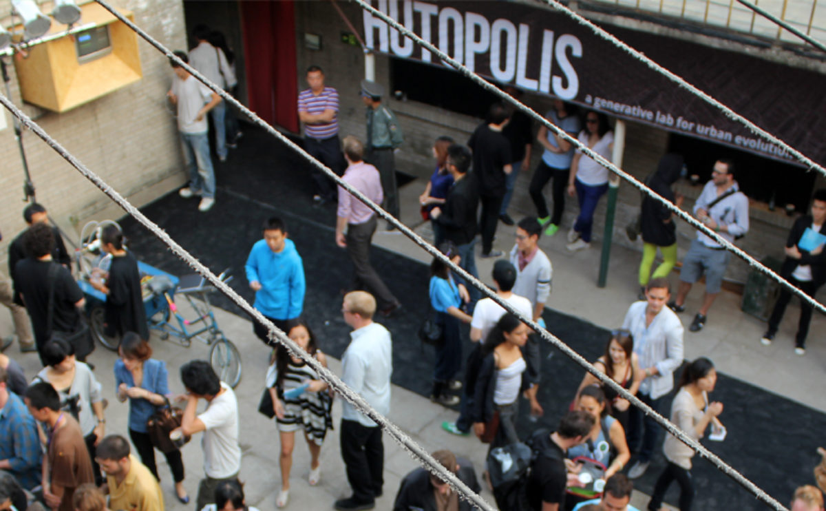 Hutopolis, opening party