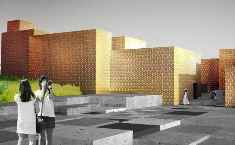 museo cúbico-fractal