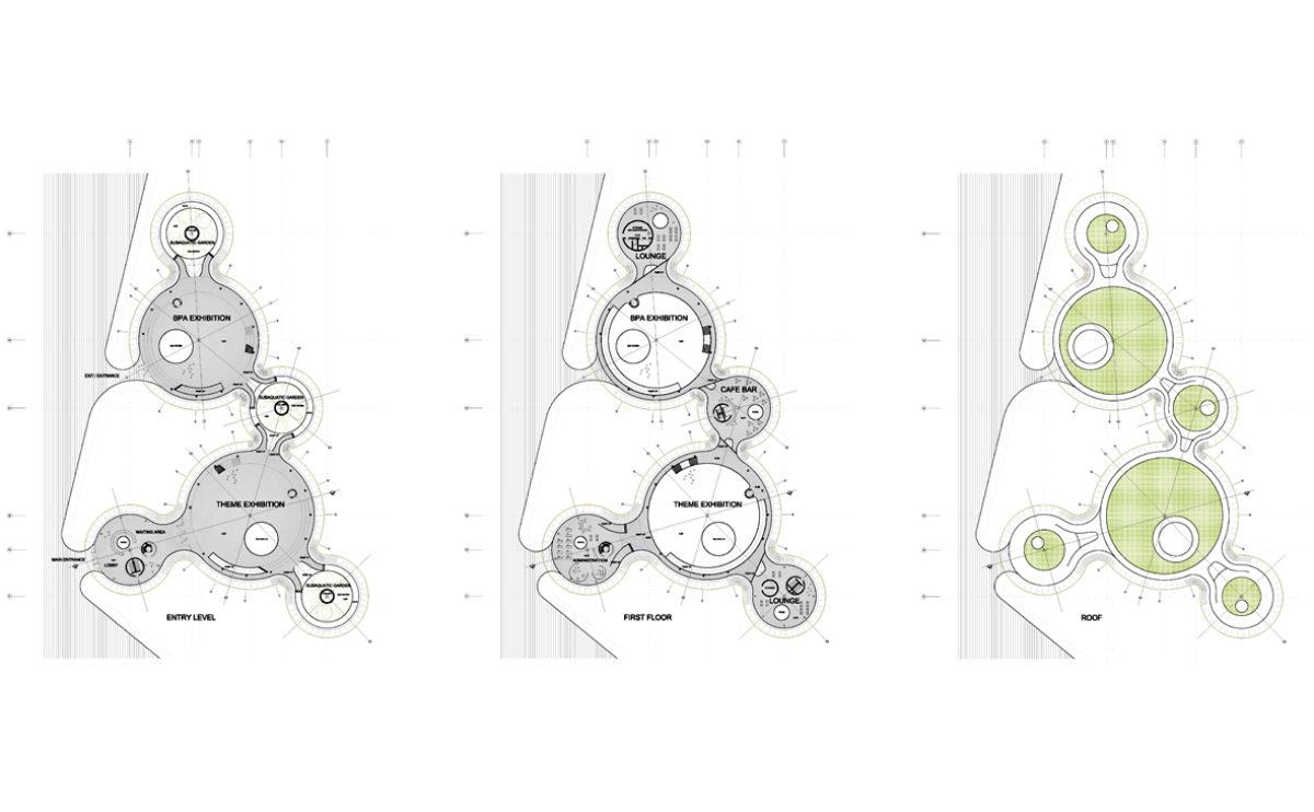 the floor plan layouts