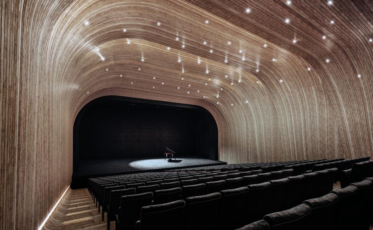 la sala del auditorio