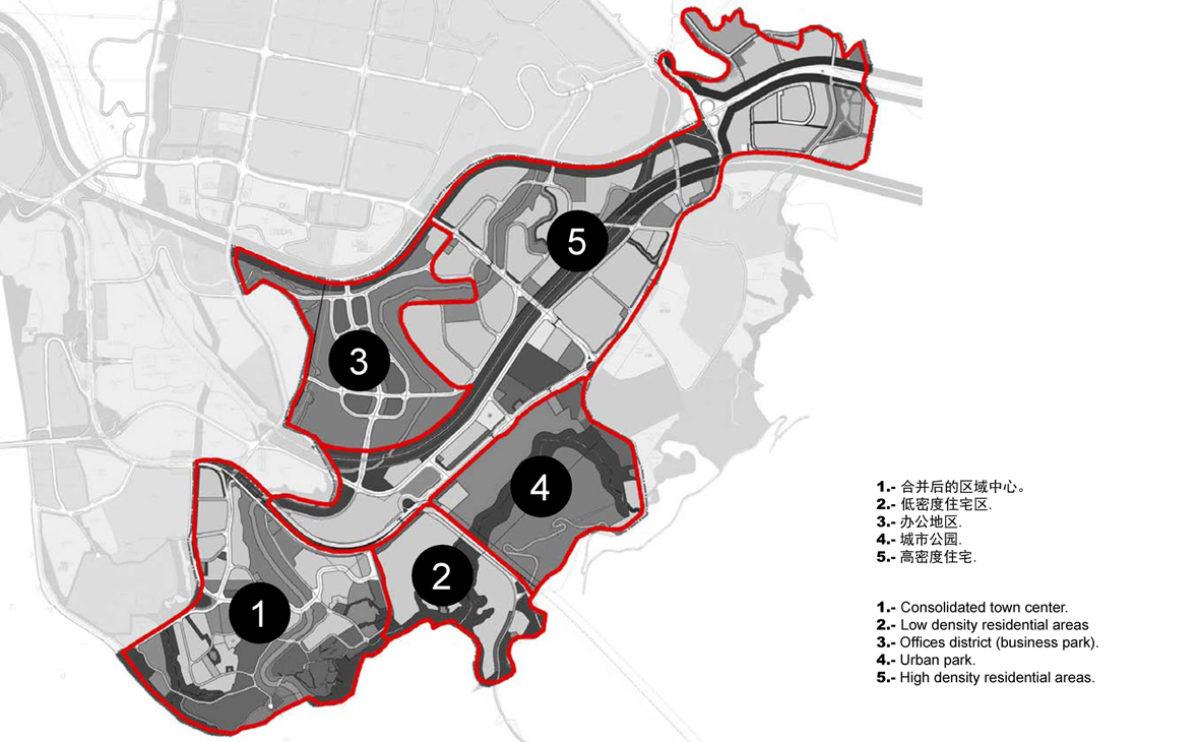 los distritos urbanos