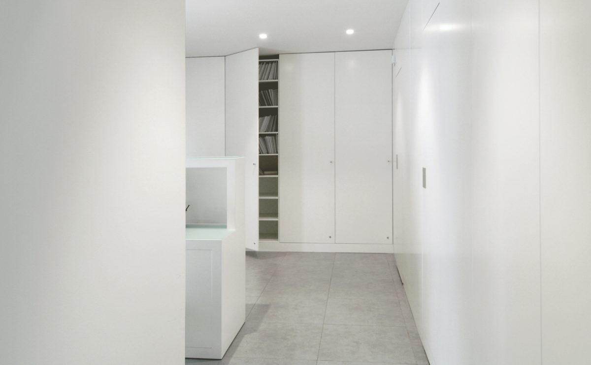 el armario del pasillo