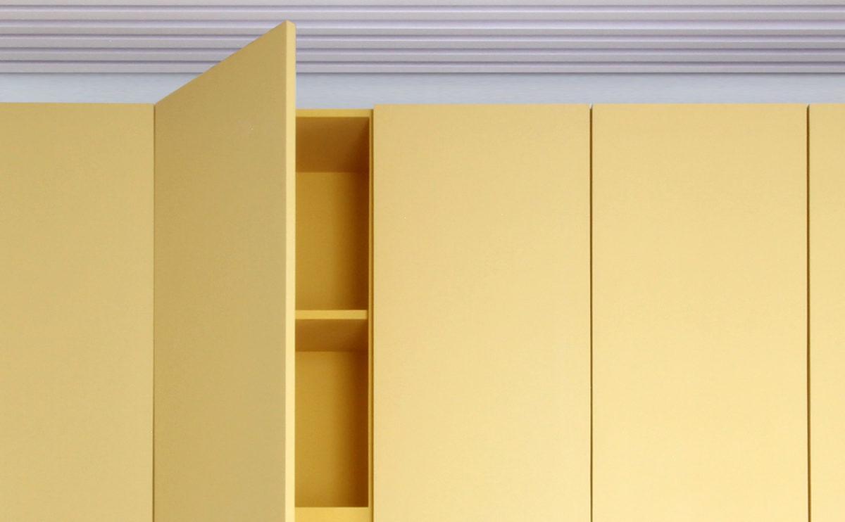 el detalle del armario
