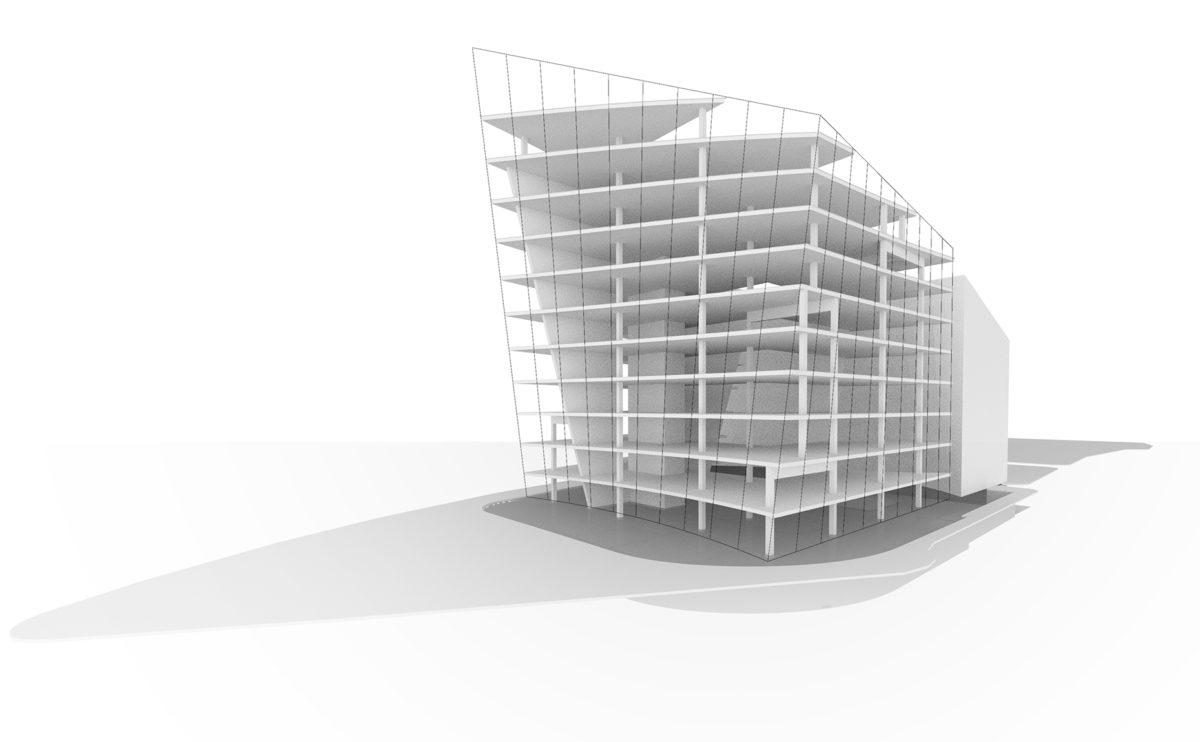 el modelo estructural en 3d