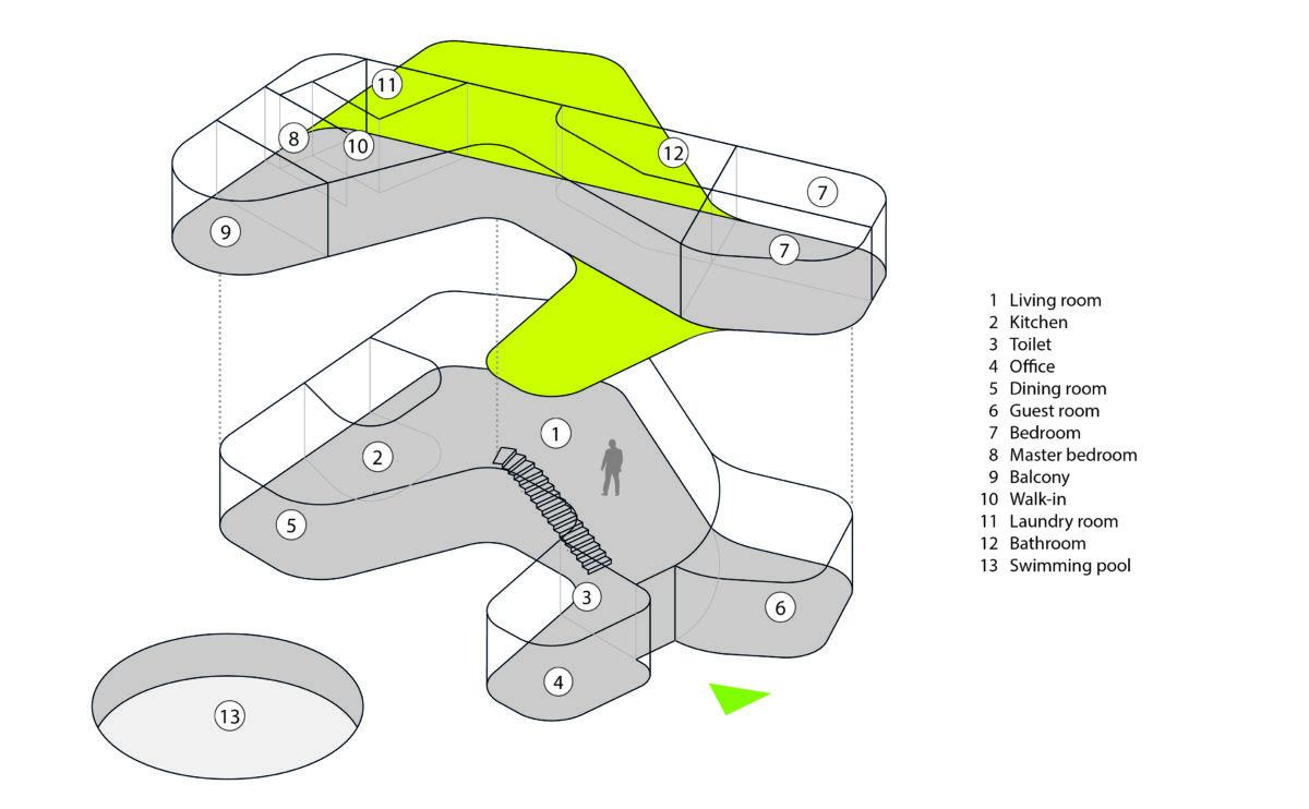 the massing diagram