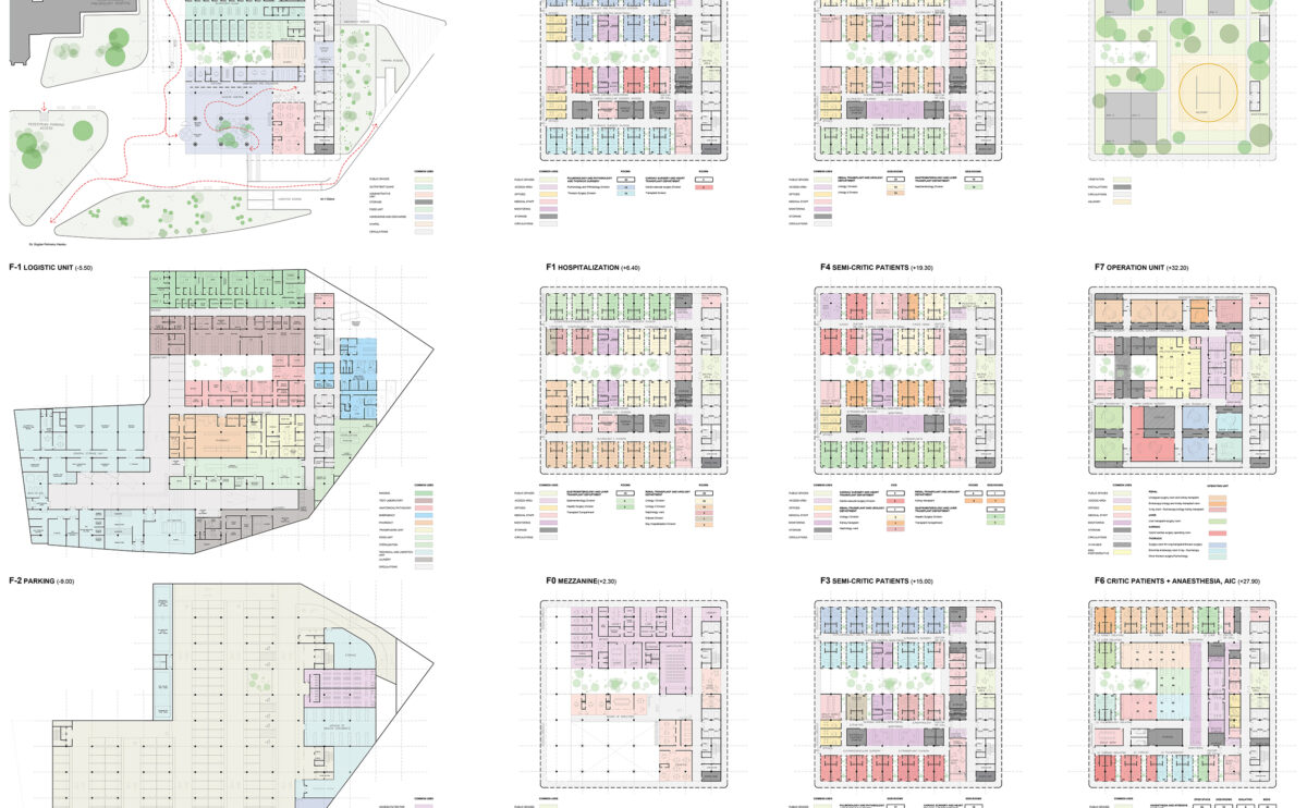 the floor plan layouts