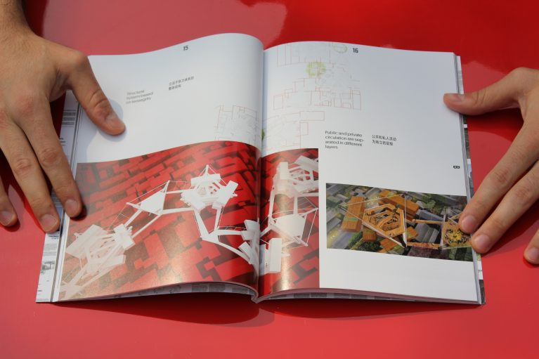 A map of hutopolis. Book preview. Articles. China urban development