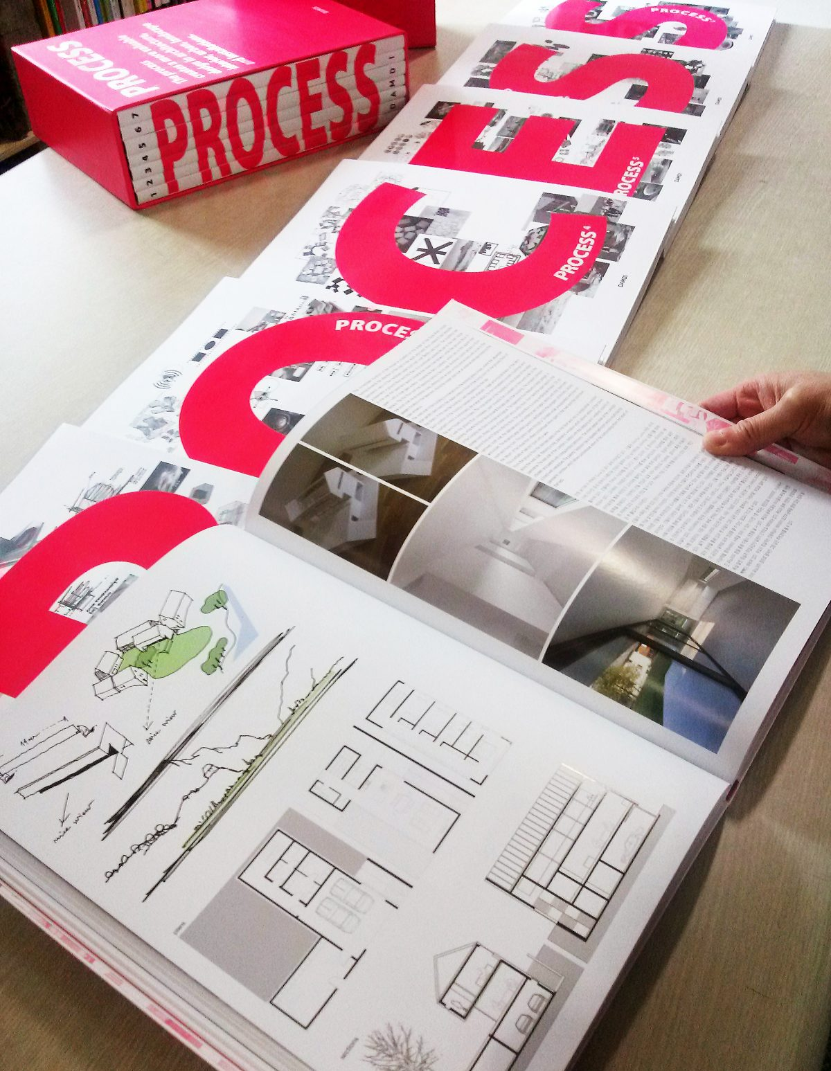 Process Book Preview 7 Volumes