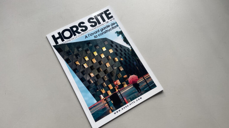 The 10th edition of the Hors Site magazine features the Shoreditch hotel by AQSO architects on the front cover.