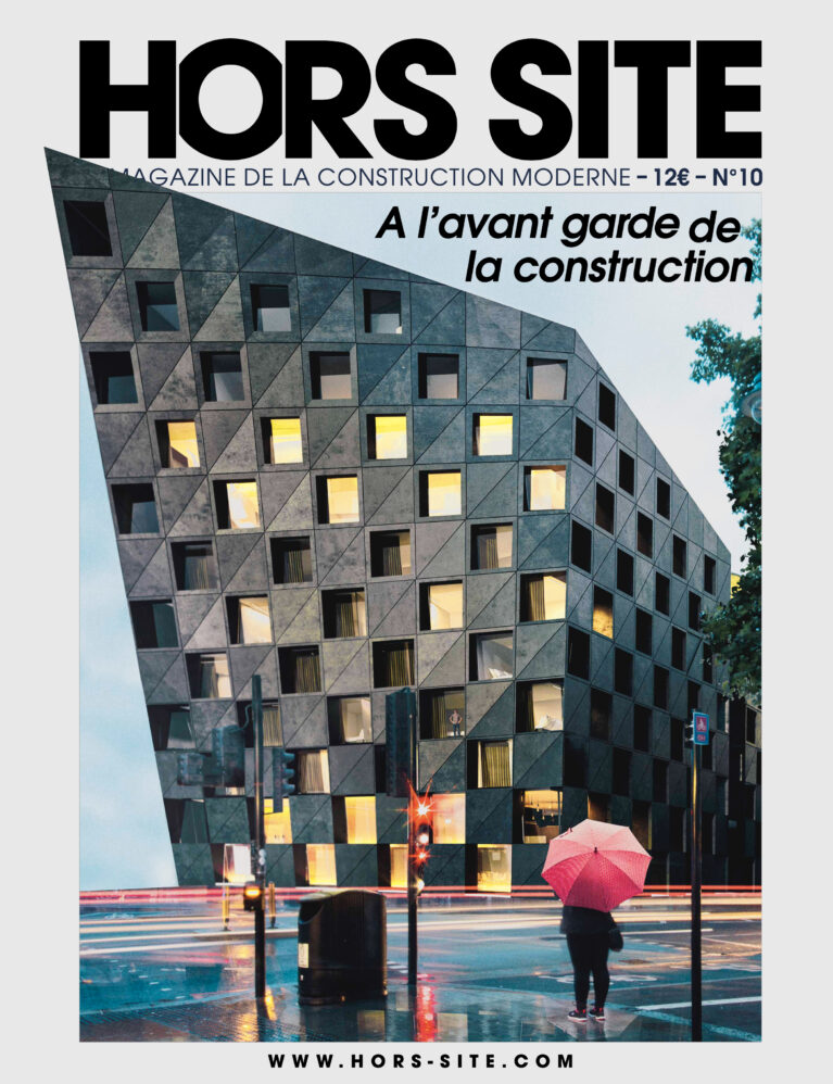 Hors-site front cover featuring the Shoreditch Hotel by AQSO architects