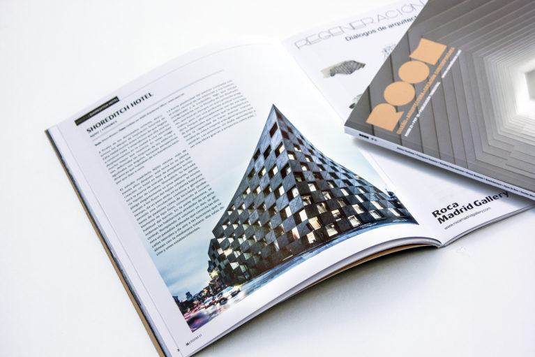 aqso arquitectos office, room magazine, shoreditch hotel, zaha hadid, arturo romero, contemporary architecture, publication