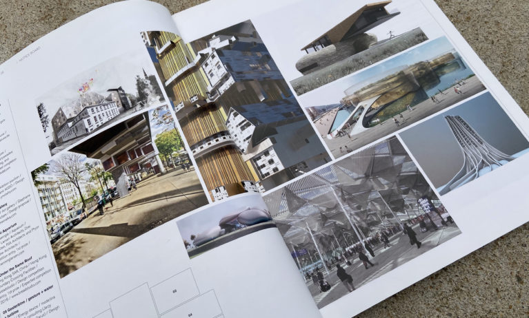 AQSO arquitectos office. Mark magazine, issue 28, featuring the wavescape pavilion by AQSO